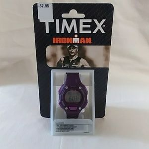 NEW Purple Timex Ironman Watch